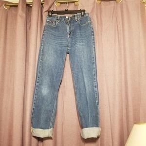 Vintage blue denim Tommy Hilfiger jeans